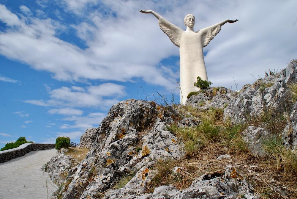 Route roadtrip Zuid-Italië Statua del Cristo Redentore di Maratea