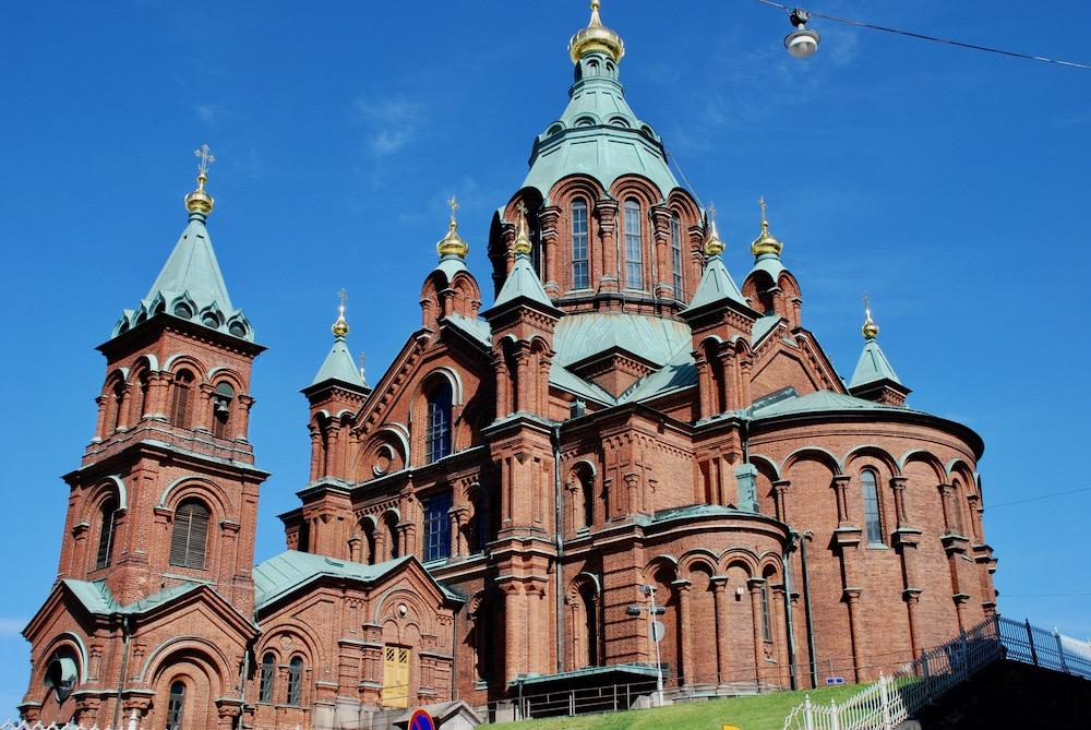 Oespenski kathedraal Helsinki Finland