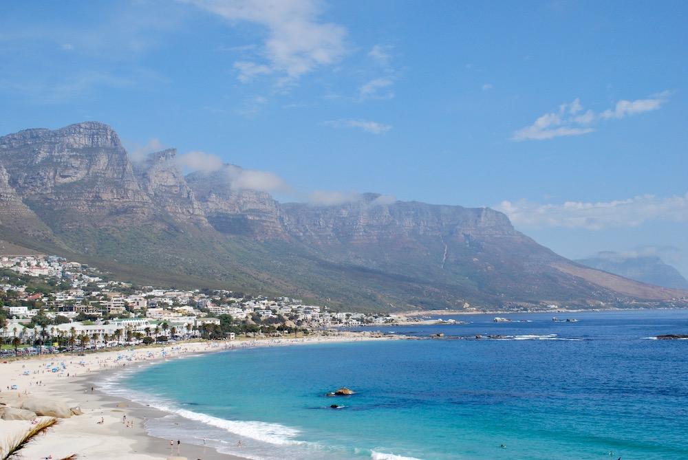 Camps Bay Beach Kaapstad Zuid-Afrika