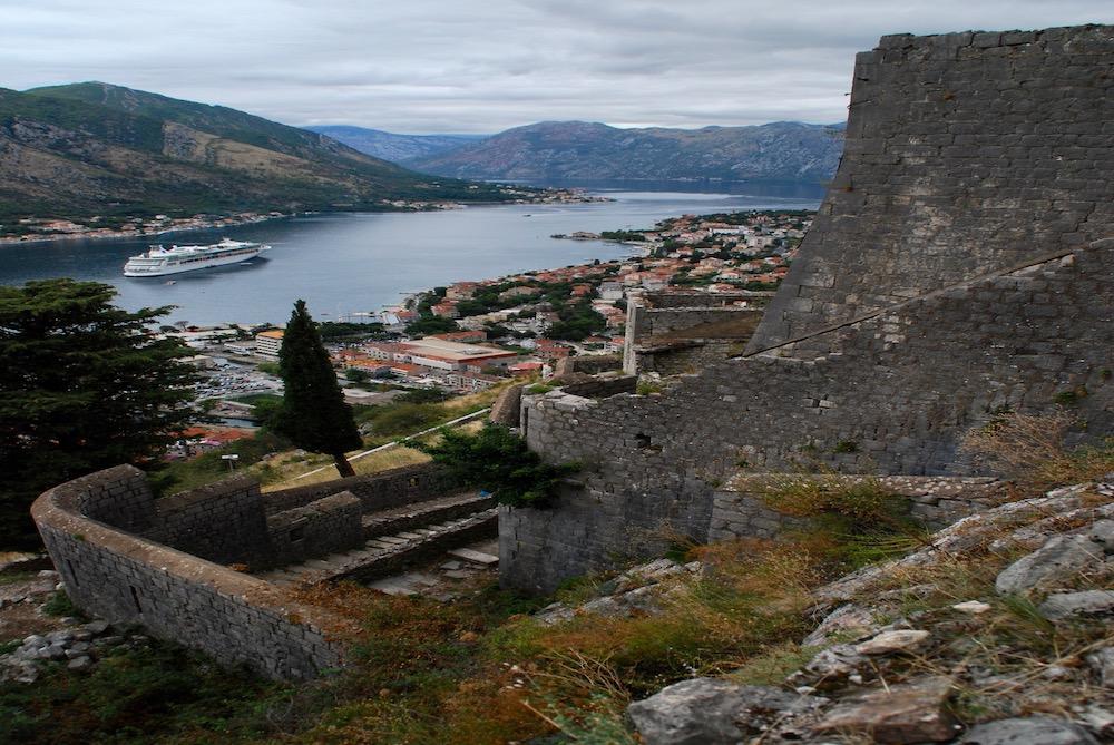 Ladder van Kotor Montenegro