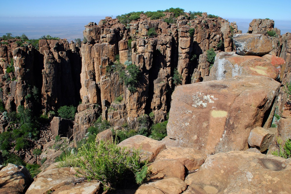 Valley of Desolation Graaff Reinet Zuid-Afrika
