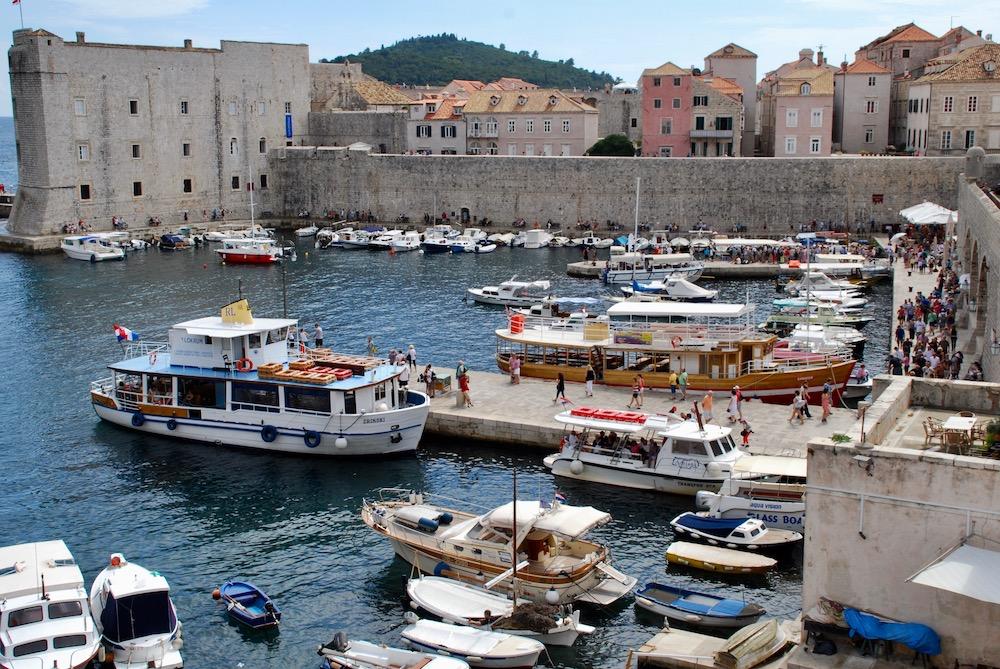 Haven van Gruž Dubrovnik Kroatië