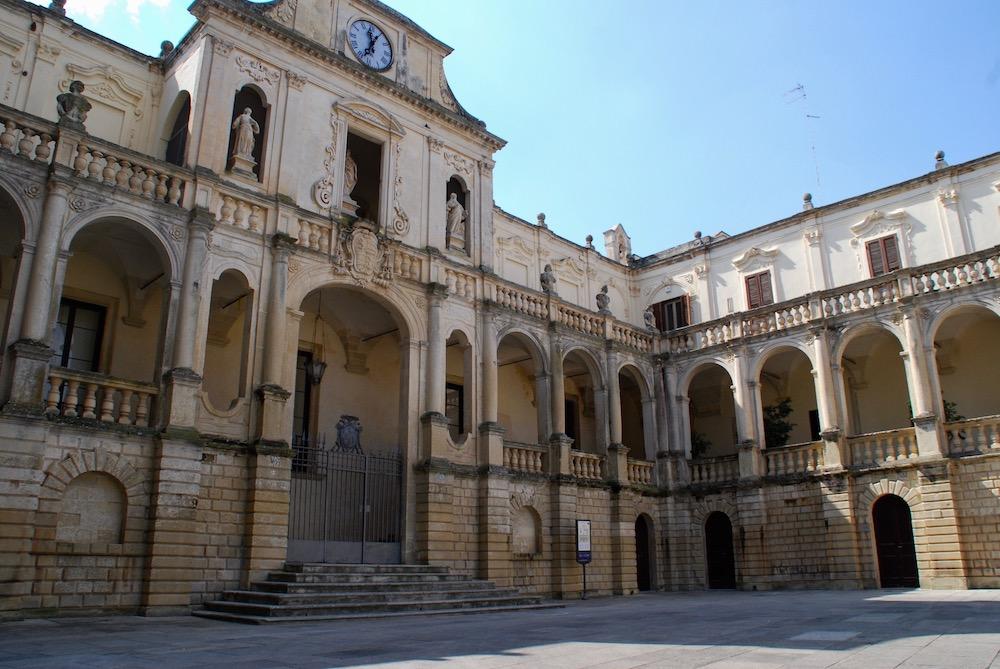 Piazza del Duomo Lecce Italië