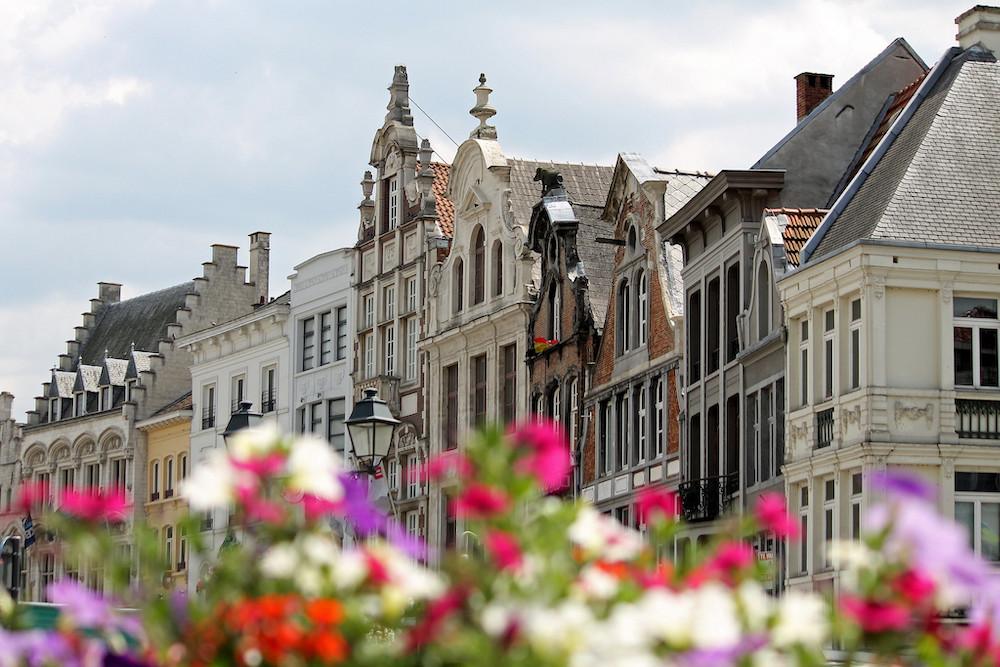 Grote Markt Mechelen België