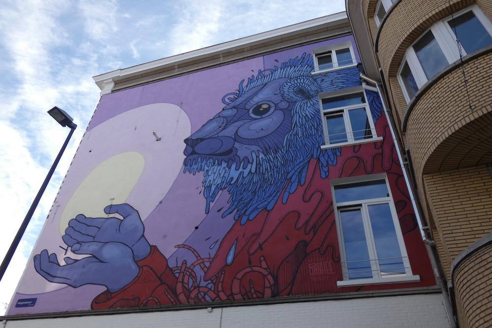 Street art Mechelen Muurt België