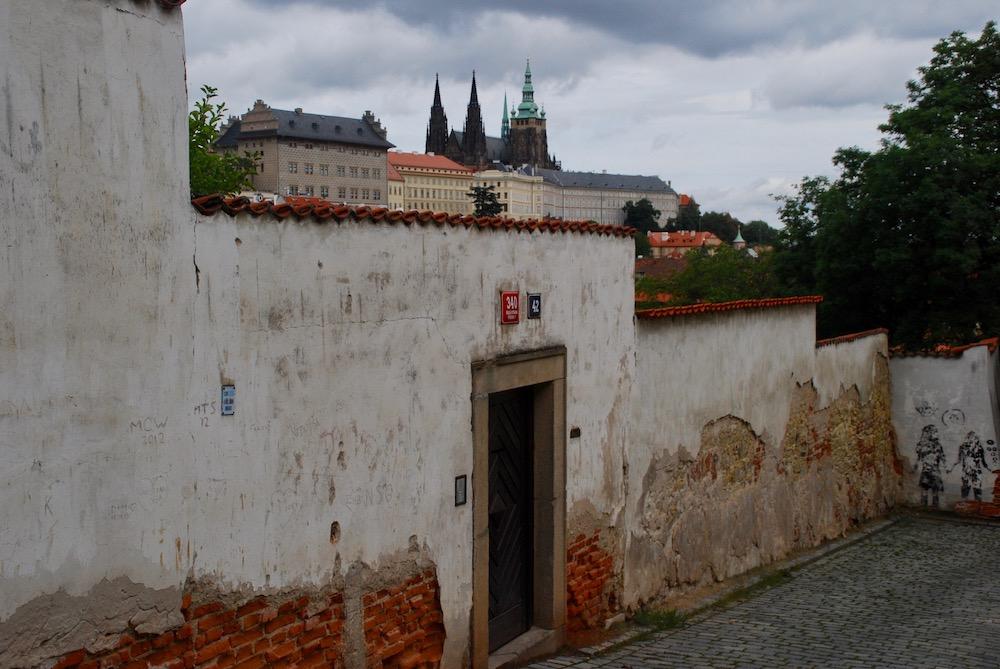 Mooiste uitzichten Praag Tsjechië Petřínheuvel