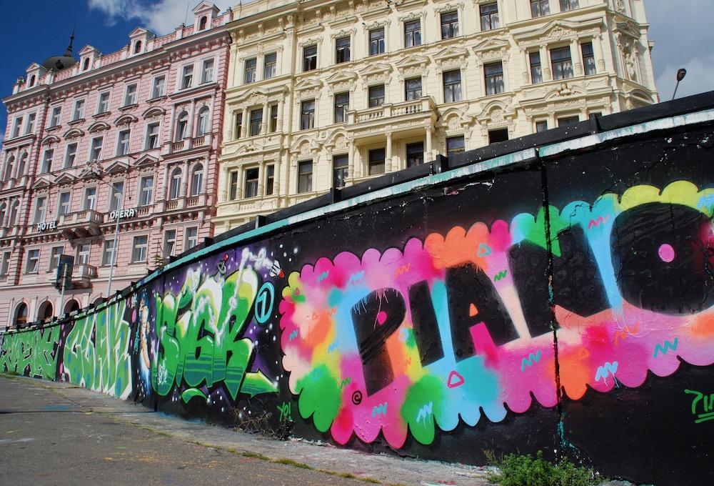 Openbare kunst Praag Tsjechië