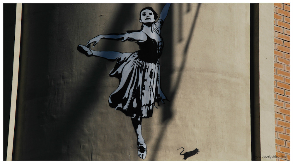 Blek Le Rat street art Dubai