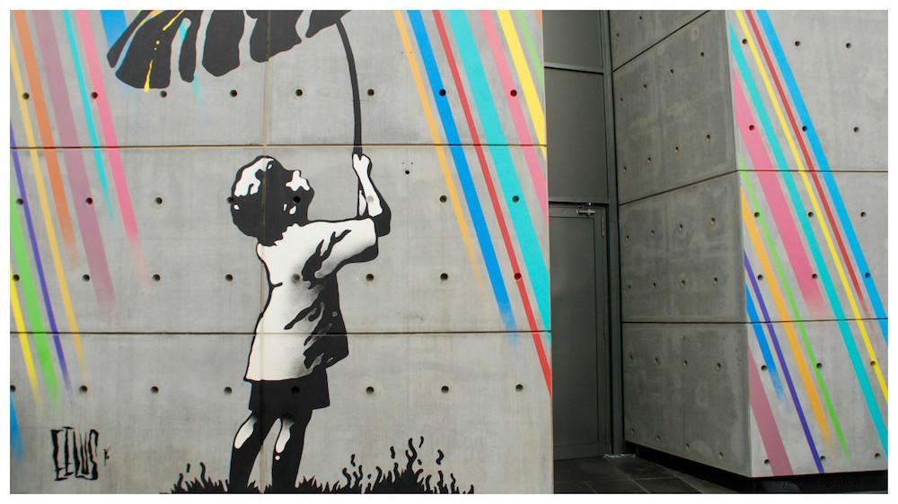 Eelus street art Dubai