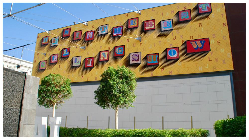 Eine street art Dubai