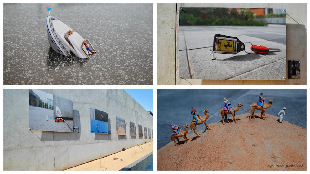 Slinkachu street art Dubai