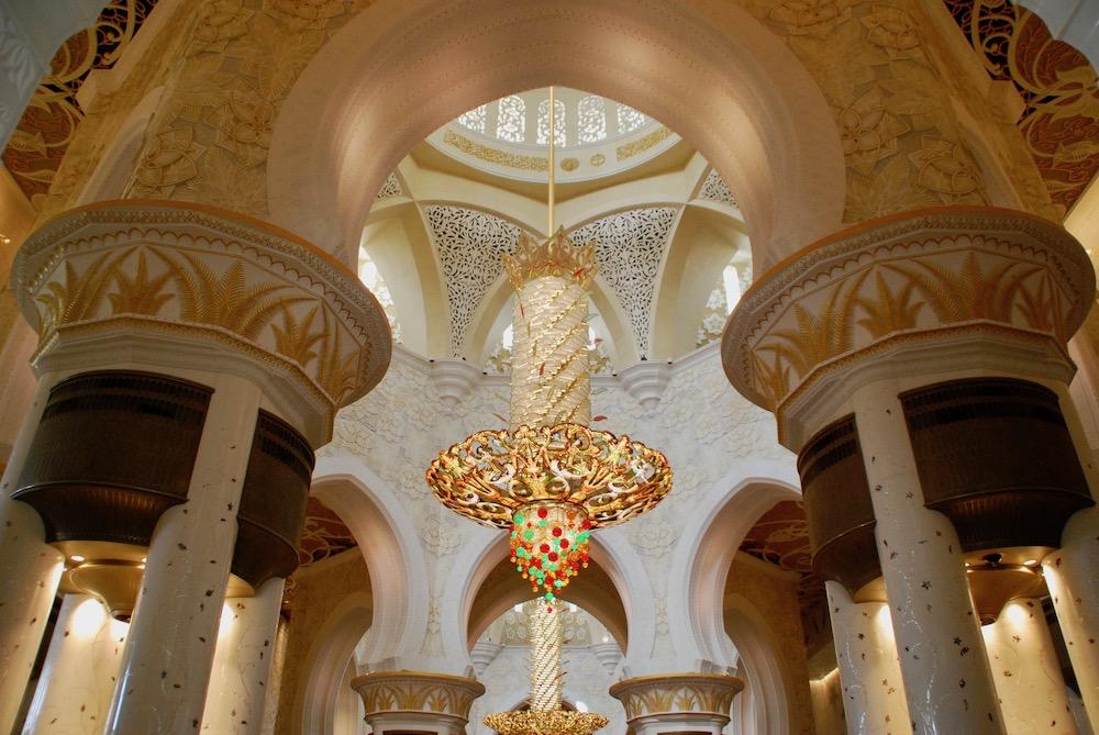 Sheikh Zayed Grand Mosque Abu Dhabi Verenigde Arabische Emiraten
