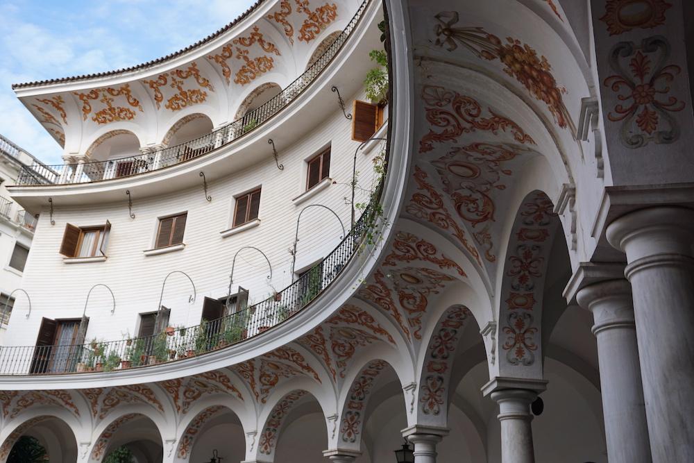 Plaza del Cabildo Sevilla Spanje