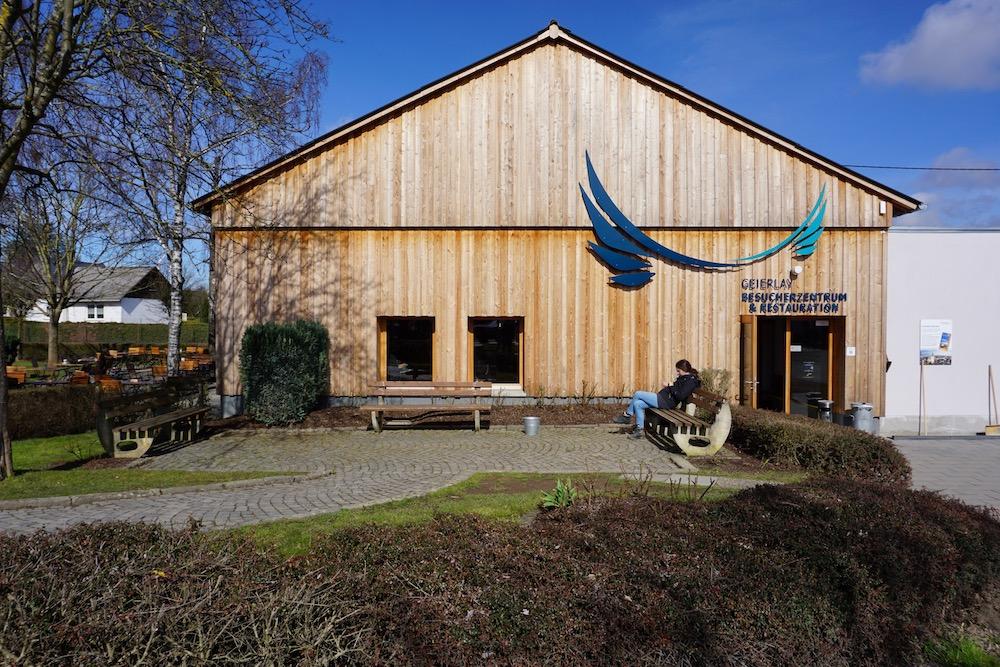Bezoekerscentrum Geierlay hangbrug Mörsdorf Duitsland