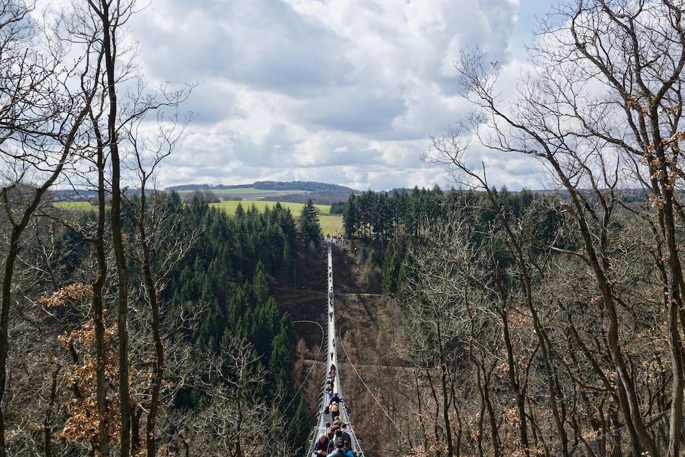 Geierlay hangbrug Mörsdorf Duitsland