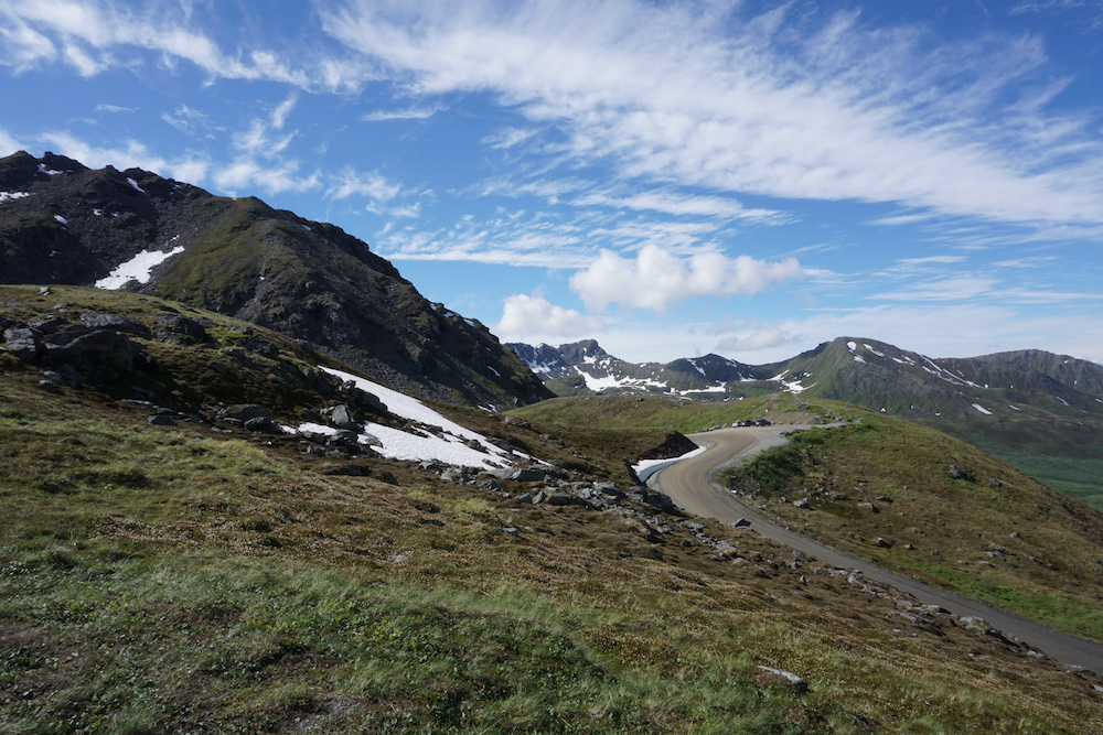 Route Alaska Hatcher Pass Alaska Verenigde Staten