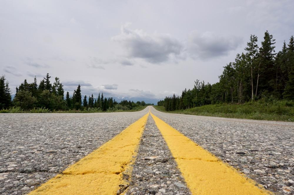 Route Alaska Verenigde Staten