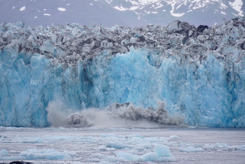 Columbia Glacier Valdez Alaska