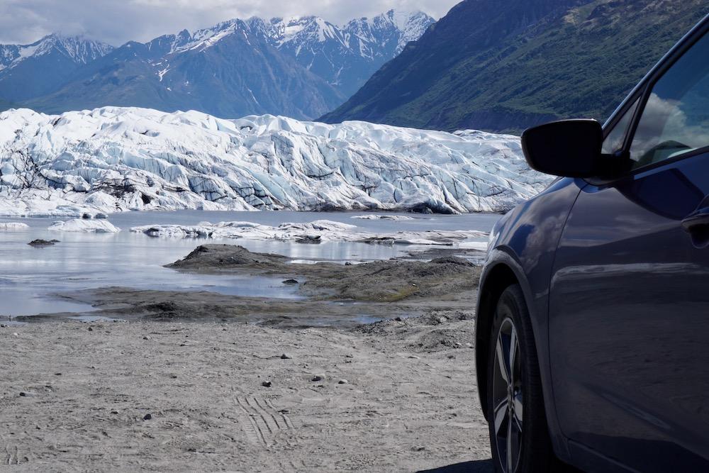 Matanuska Glacier Valley Alaska Verenigde Staten