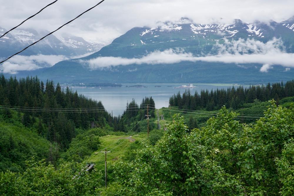 Baai van Valdez Alaska Verenigde Staten