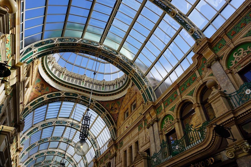 County Arcade Leeds Verenigd Koninkrijk