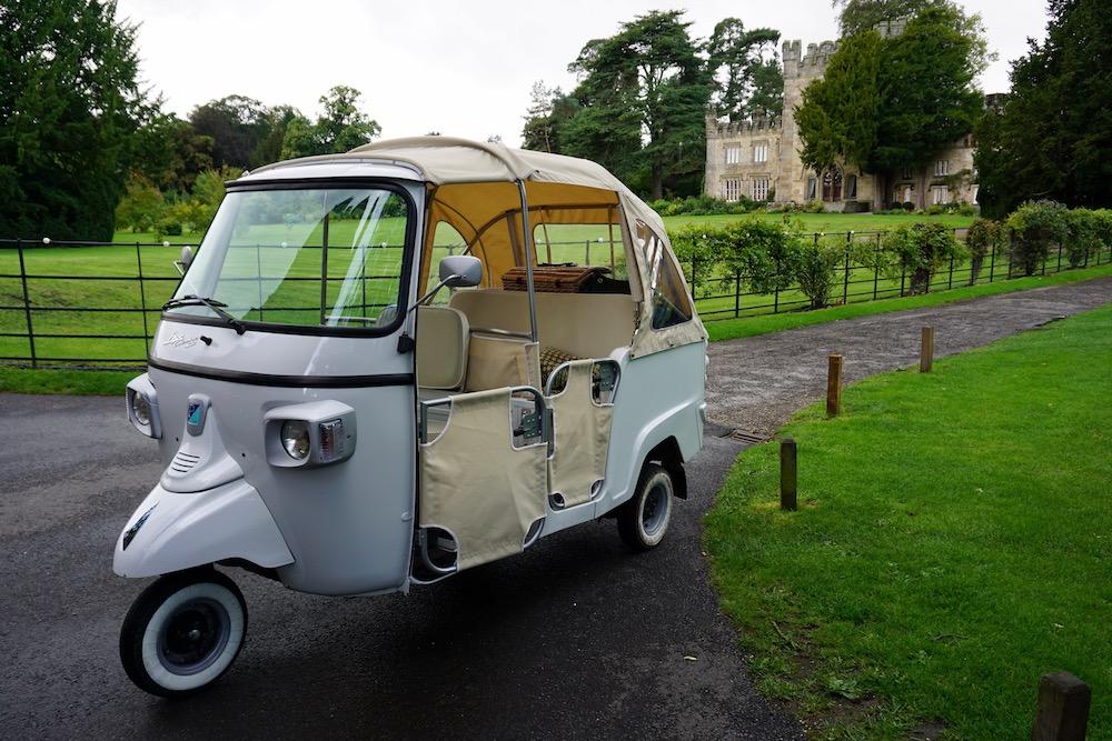 Tuktuk Yorkshire Dales Verenigd Koninkrijk