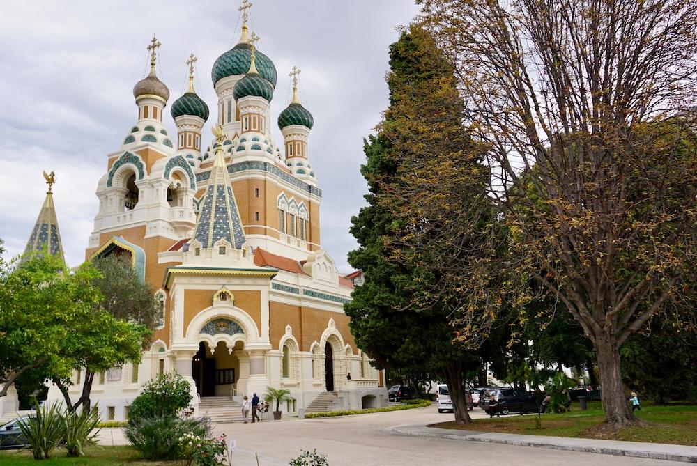 Cathédrale Saint-Nicolas Nice Frankrijk
