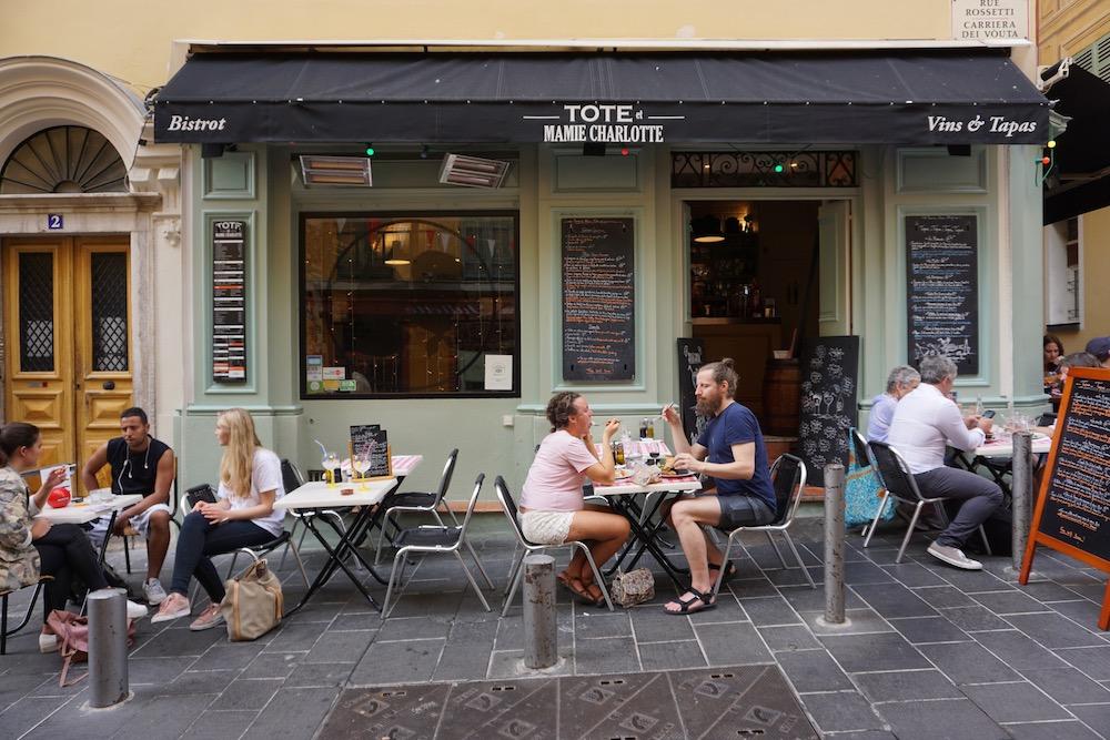 Eten en drinken in Nice Frankrijk