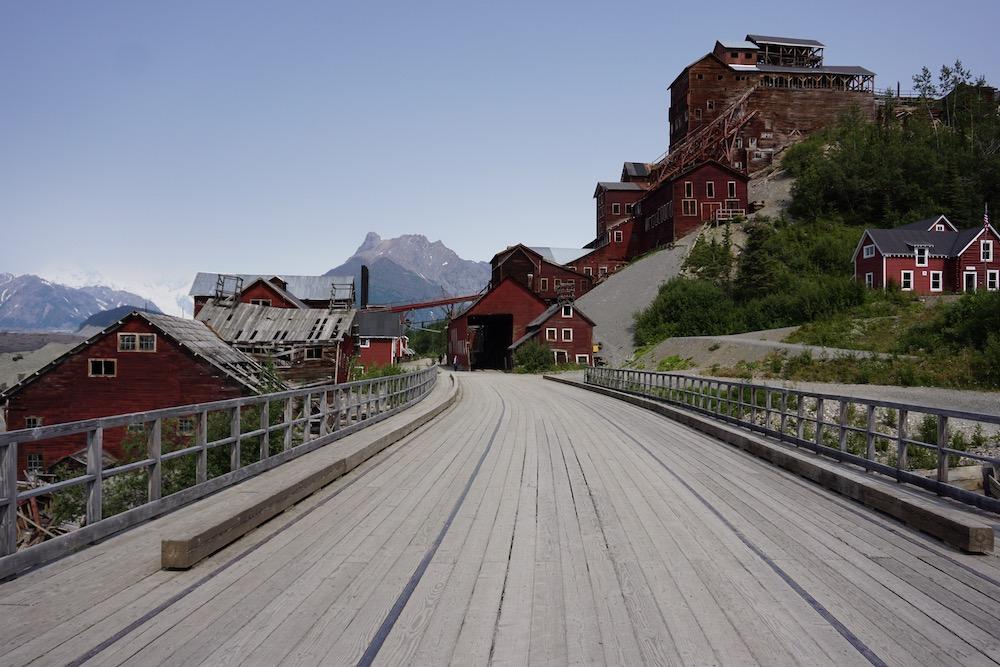 Kennecott Mines Wrangell St. Elias National Park Alaska Verenigde Staten