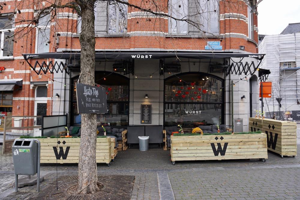 Eten en drinken in Leuven Würst