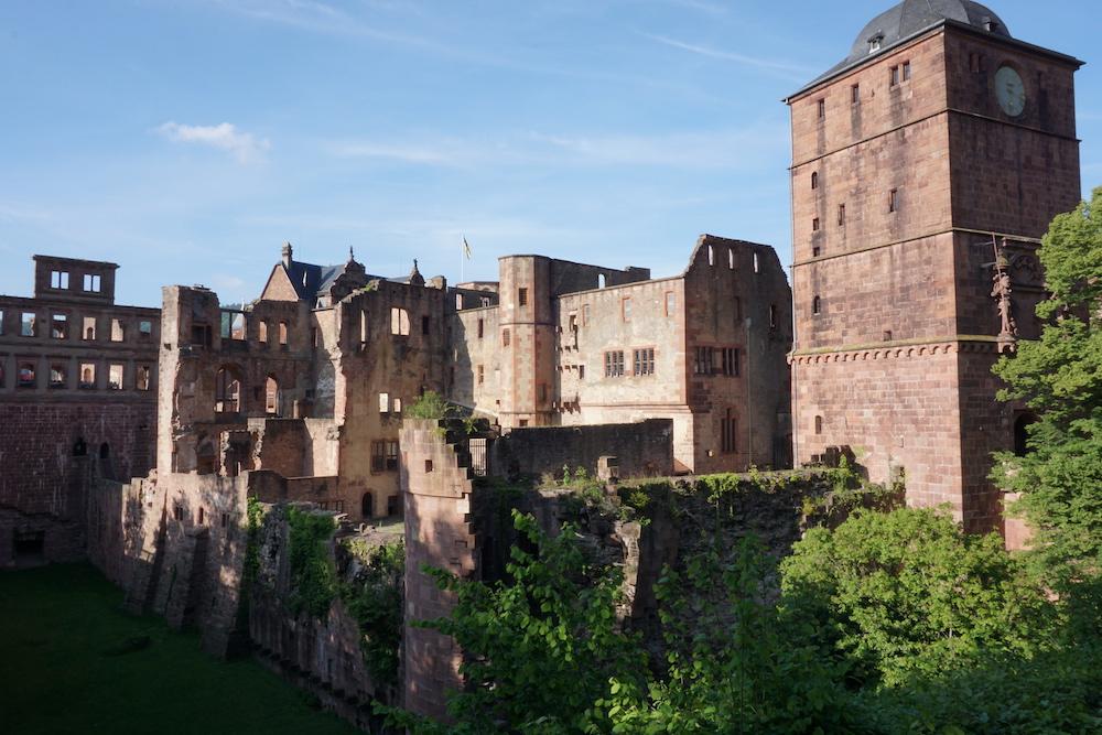 De mooiste kastelen in Duitsland Schloss Heidelberg