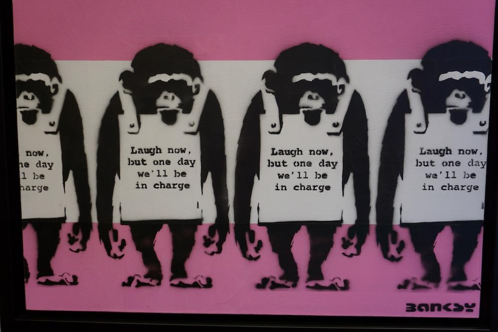 Banksy Moco Museum Amsterdam Nederland