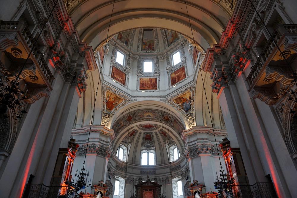 Dom van Salzburg Oostenrijk
