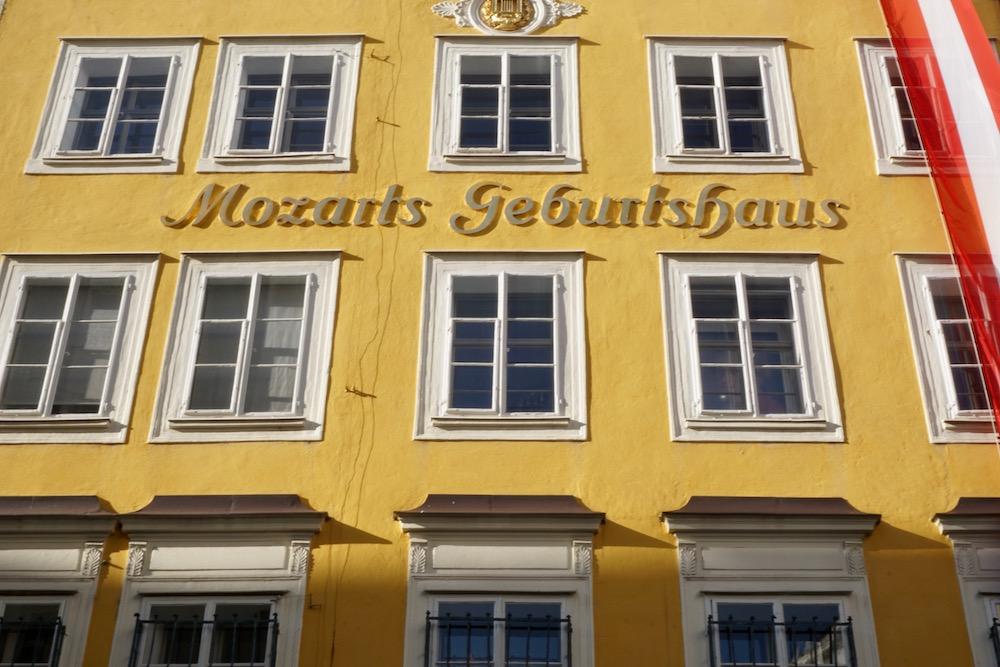 Geboortehuis van Mozart Salzburg Oostenrijk