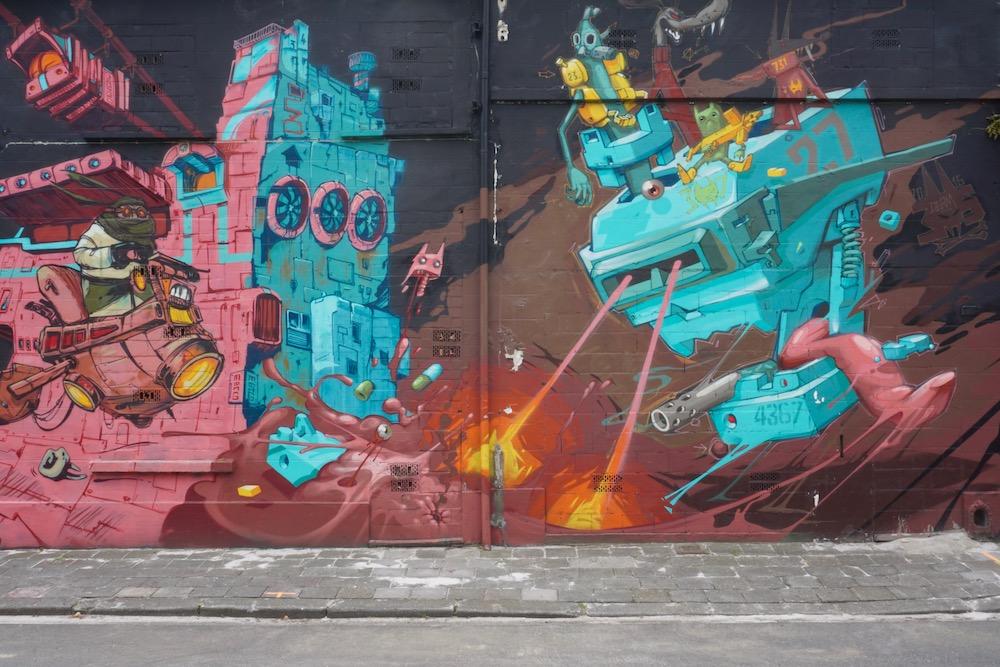 Meeting of Styles street art Antwerpen Berchem België