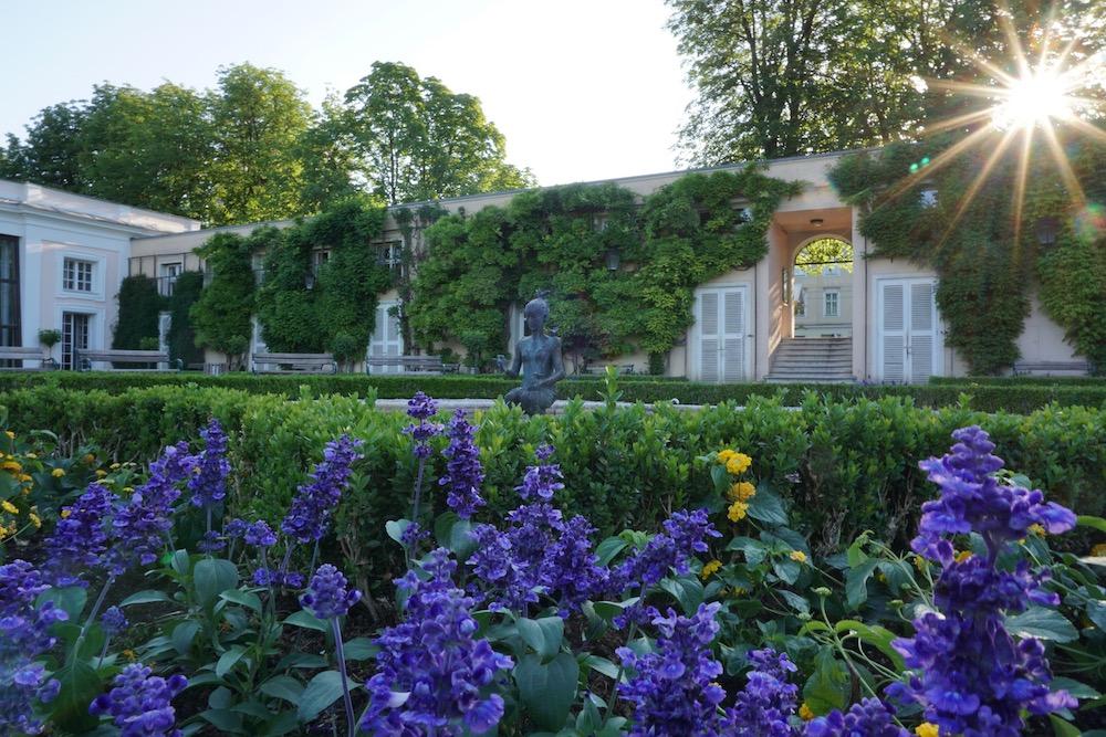 Tuinen Schloss Mirabell Salzburg Oostenrijk