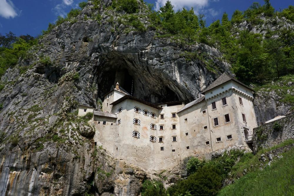 Kasteel Predjama Postojna Slovenië