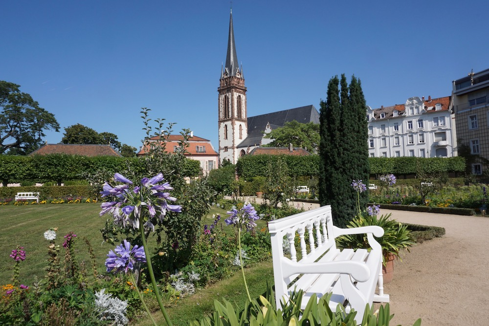 Prinz Georgs Garten Darmstadt Duitsland