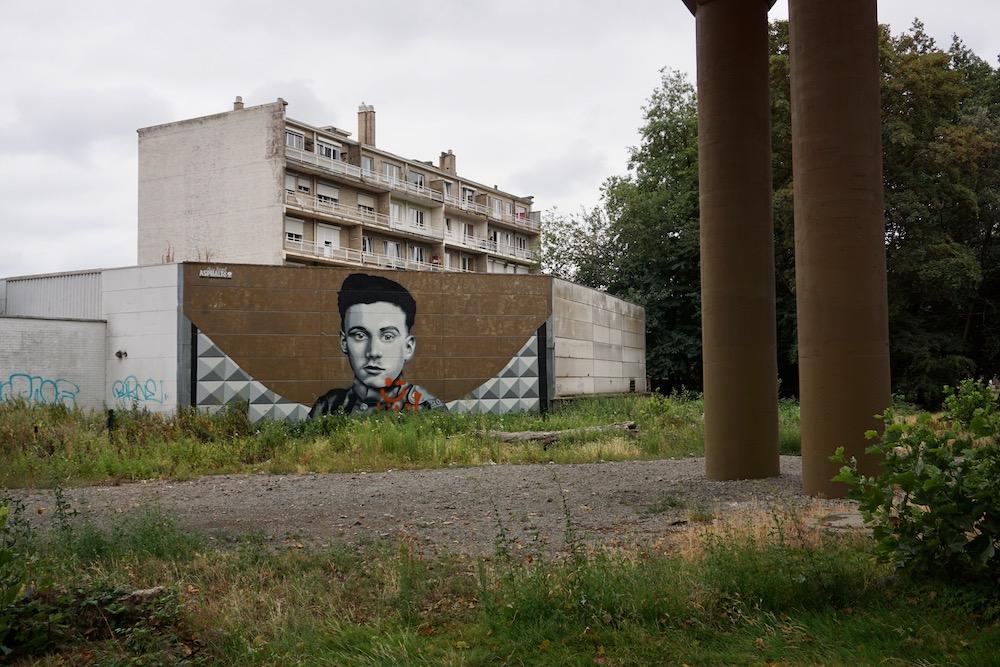 Street art Charleroi België