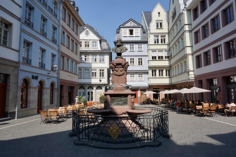 Hühnermarkt Frankfurt am Main Duitsland