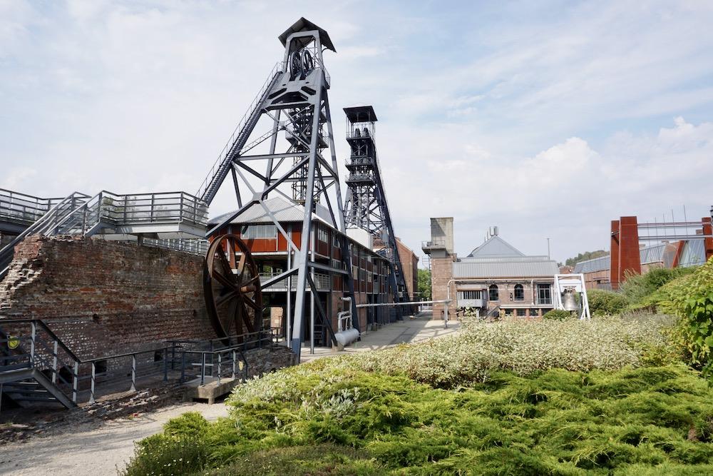 Le Bois du Cazier Charleroi België