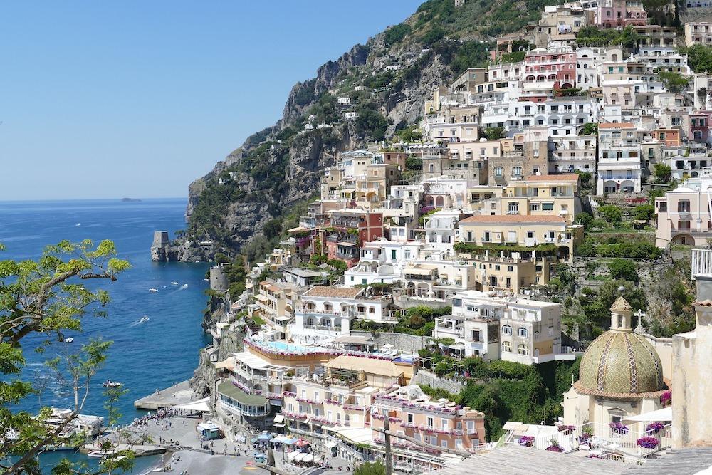 Vakantie Italië Positano Amalfikust