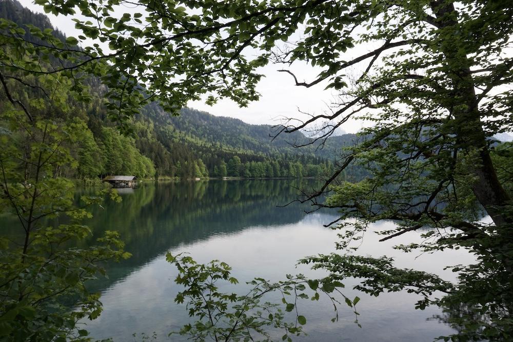 De mooiste meren in Duitsland Alpsee Allgäu