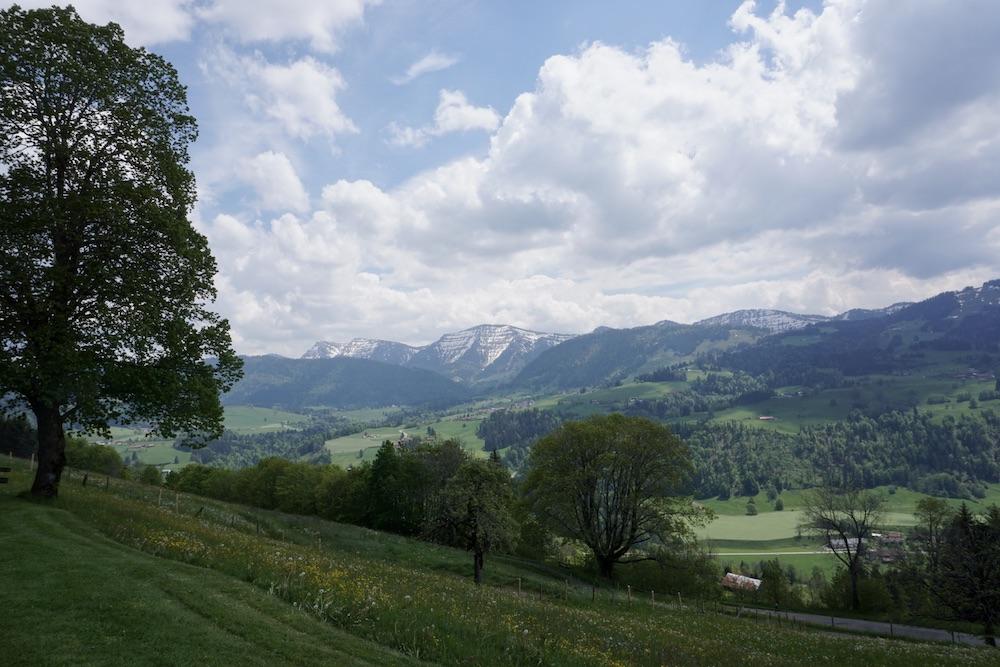 Duitse Alpenroute Hotel Café Berghof am Paradies Oberstaufen Duitsland