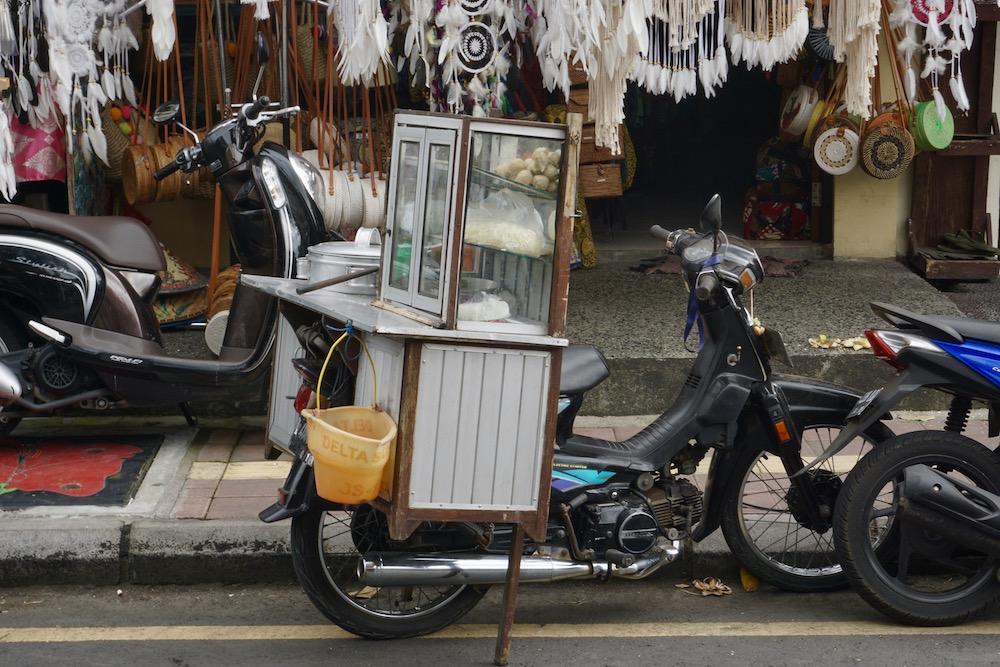 Scooter huren Bali Indonesië