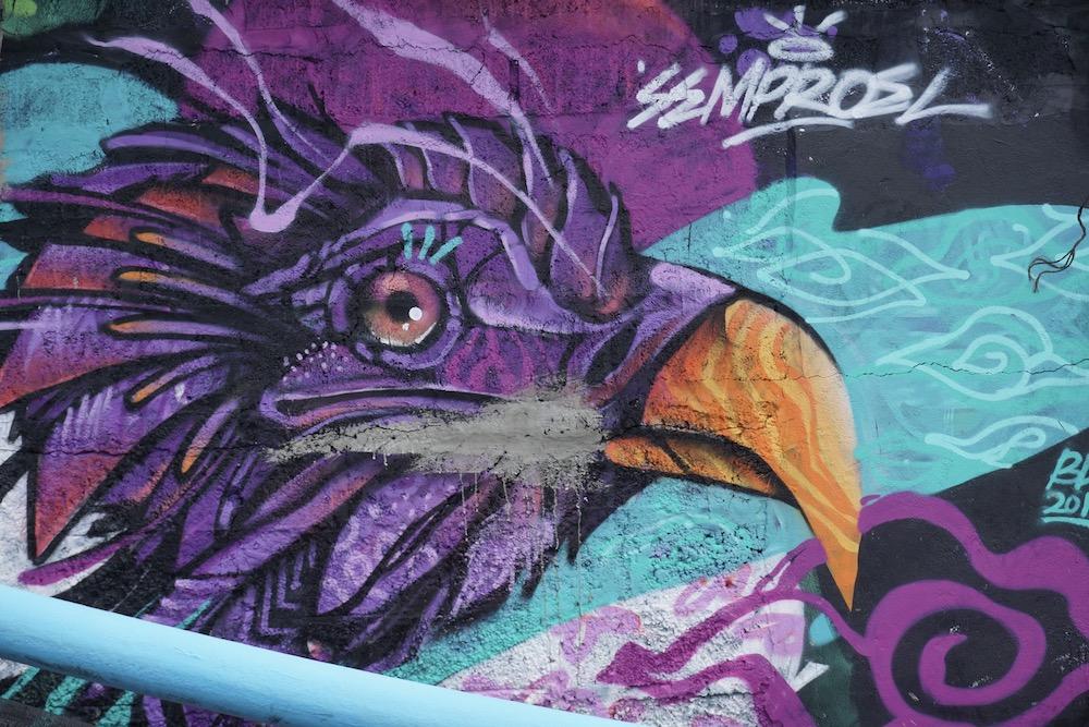 Street art Canggu Bali Indonesië
