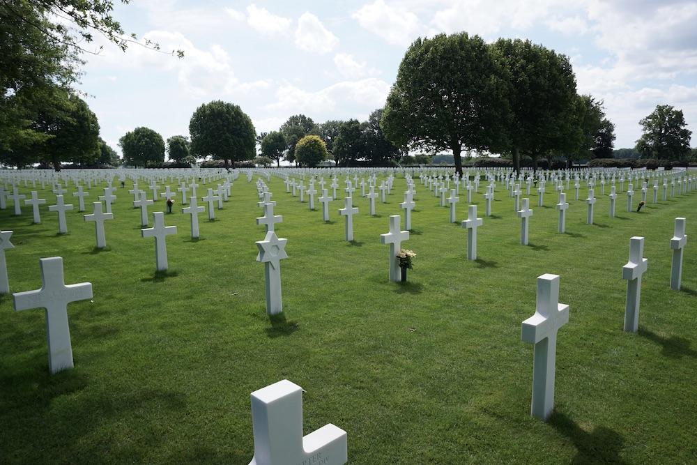 Amerikaanse Begraafplaats Margraten Zuid-Limburg Nederland