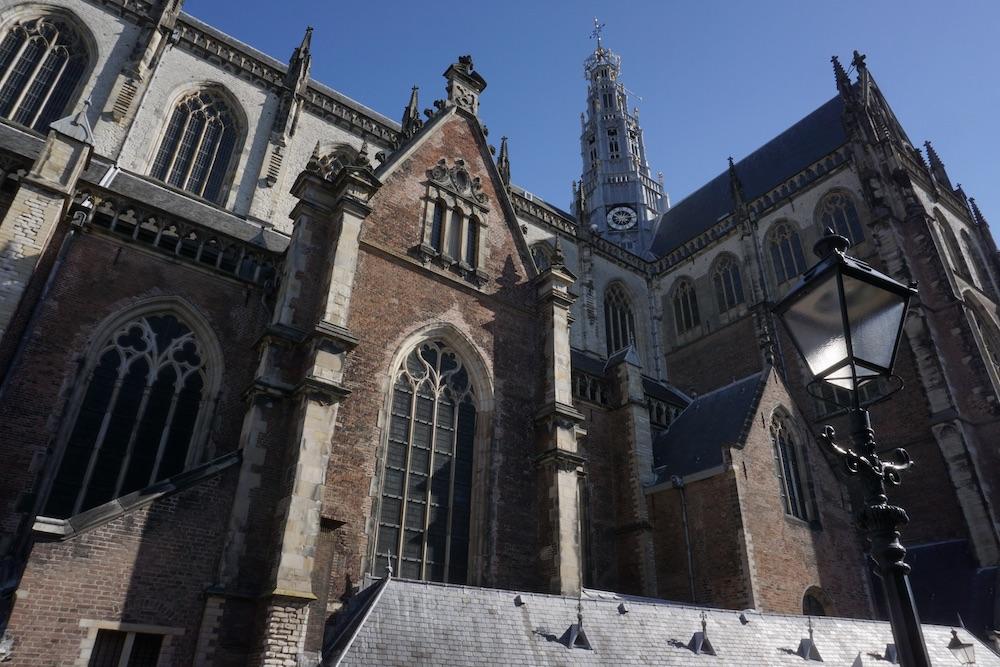 De Grote of St. Bavokerk Haarlem Nederland