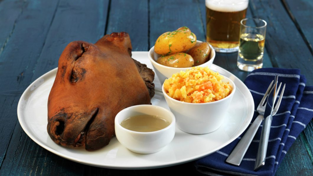 Sheep`s Head, Christmas Delicacy, Norway