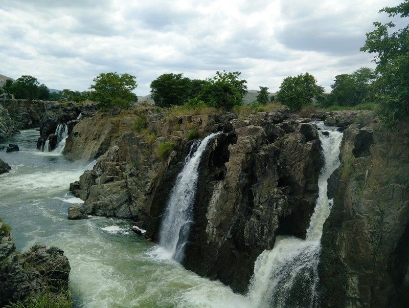 Trip to Hogennakal Waterfalls